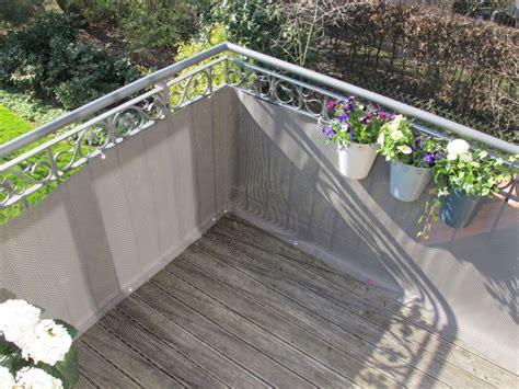 balkonbespannungen attraktiver balkon sichtschutz
