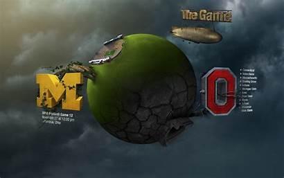 Michigan Wallpapers Football Wolverines Desktop State Ohio