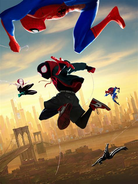 wallpaper spider man   spider verse animation