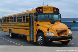 2014 Blue Bird Vision School Bus