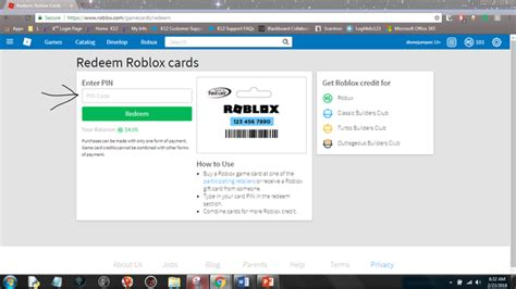 You can use these codes and redeem robux for the game. I am going to buy a card on Roblox. How do I redeem it by ...