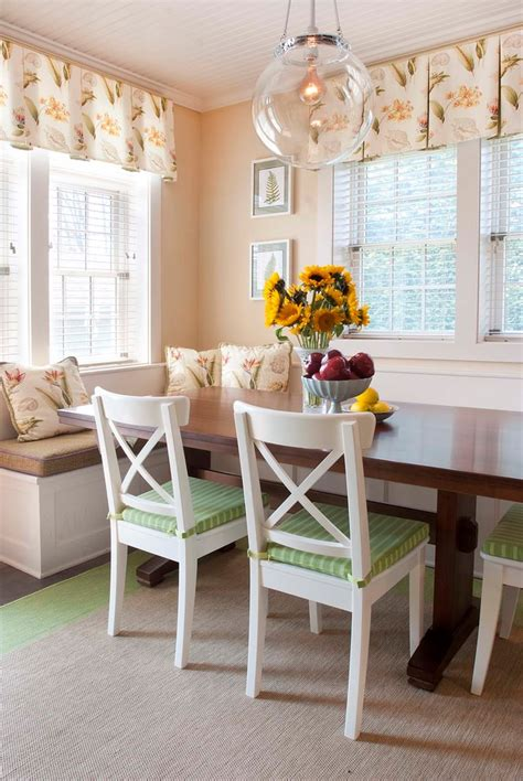 farmhouse corner kitchen table pretty breakfast nook bench in dining room traditional