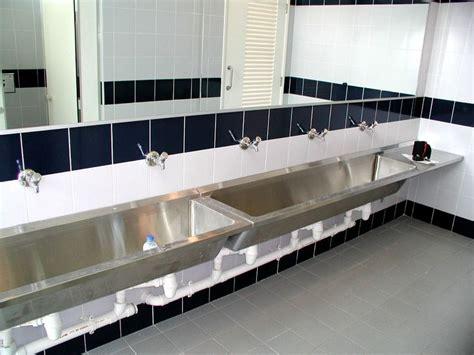 Modern Stainless Steel Bathroom Sinks by Stainless Steel Bathroom Sinks For Commercial Areas Home