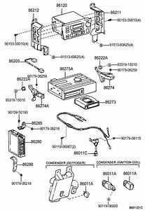 Toyota T100 Condenser  Condenser  Radio Setting  Filter