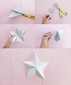 Comment Faire Une Etoile : tuto guirlande origami etoile ~ Nature-et-papiers.com Idées de Décoration