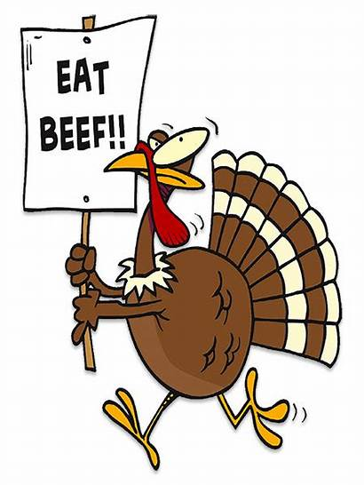 Eat Beef Thanksgiving Turkey Animated Clipart Plan