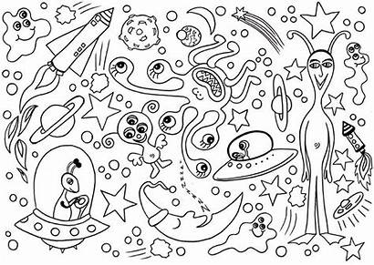 Space Worksheets Outer Coloring Activity Via Shelter