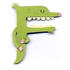 Monster Letter F