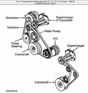 1997 Lesabre Serpentine Belt Diagram Html