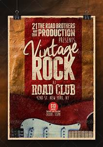 Vintage Rock Poster Vol2 by YellowCloud | GraphicRiver