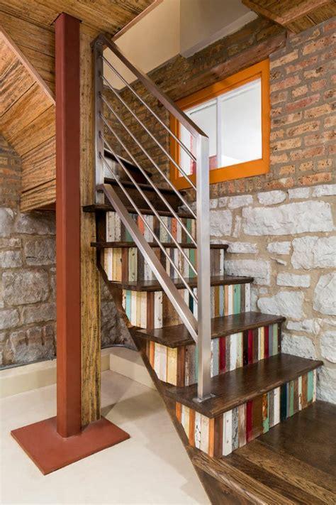 unique eclectic staircase designs  dont