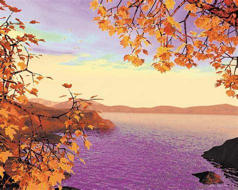 Autumn Splendor  Artwork By Atmara