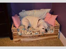 How to Make Pallet Dog Beds Pallets Designs