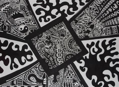 Abstract Black And White Drawings by Black And White Abstract Drawings 20 Wide Wallpaper
