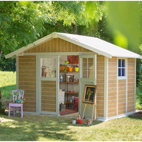 gartenhaus kunststoff grosfillex gartenhaus aus kunststoff 7 5m 178 deco sherwood grosfillex
