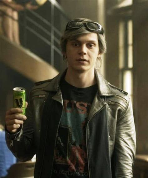 Evan thomas peters (born january 20, 1987) is an american actor, best known for his multiple roles on the fx anthology series american horror story. X Men Apocalypse Quicksilver Leather Jacket (With images ...