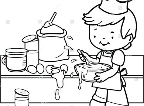 kitchen utensils coloring pages  getcoloringscom