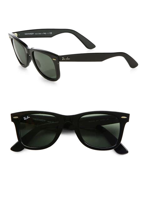 Ray-ban Classic Wayfarer Sunglasses in Black for Men