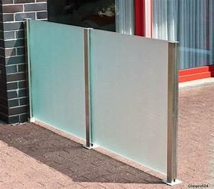 Windschutz Glas Terrasse : sichtschutz glas bauhaus mf44 hitoiro ~ Whattoseeinmadrid.com Haus und Dekorationen