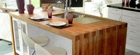 plan de travail en bois massif cuisine plan de travail en 238 lot de cuisine moderne clair en bois massif