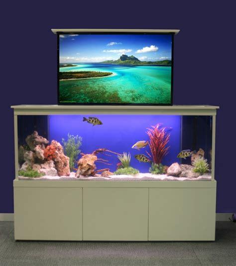cuisine mauve la décoration avec un meuble aquarium archzine fr