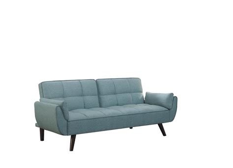 Scott Living Skylar Transitional Blue Sofa Bed