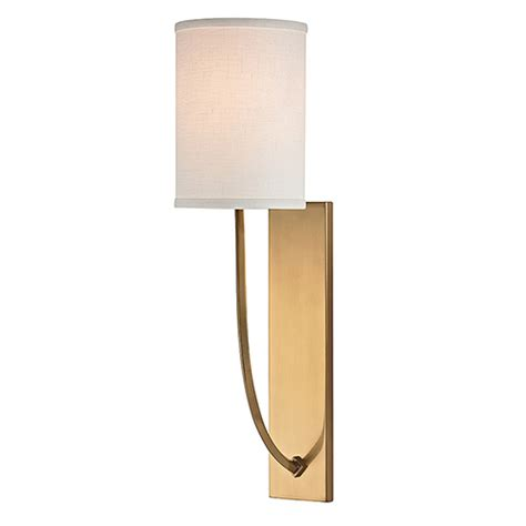 wall sconce l shade drum shade wall sconce bellacor