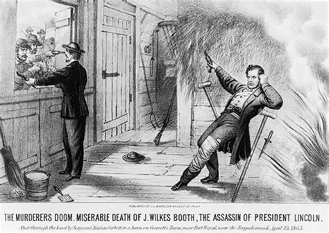 Image result for John Wilkes Booth was killed