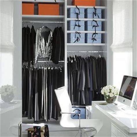 desk in closet design ideas