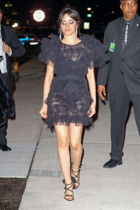 Camila Cabello Arriving Grammy After Party