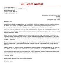 lettre de motivation commis 192 la comptabilit 233 exemple