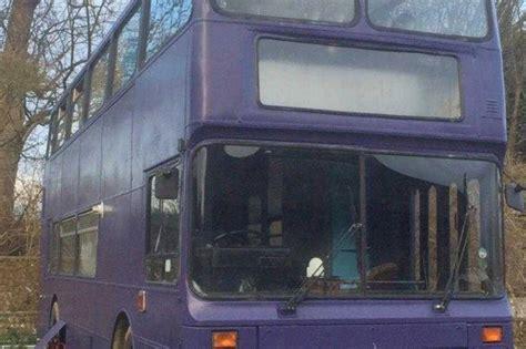 double decker bus converted