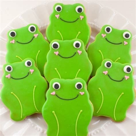 best 25 frog cookies ideas on sugaring frog