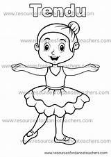 Pages Colouring Dance Preschool Coloring Ballet Value Pack Teacher Printable Visit Teachers Resources sketch template