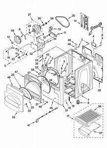 30 Kenmore He2 Dryer Parts Diagram