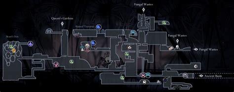 hollow knight maps  hallownest