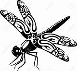 Dragonfly Outline Clipart Silhouette Vector Vinyl Cutting Dragonflies Illustration Ready Tattoo Drawings Drawing Outlines Sticker Designs Panda Dragonflys Clipartmag Clipartion sketch template