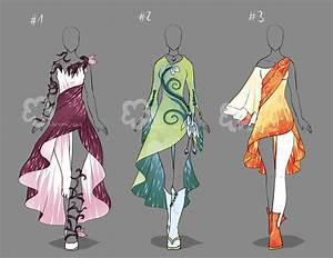 Fantasy Dresses - sold by Nahemii-san on DeviantArt