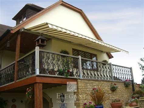 automatic awnings retractable patio awnings with sensors