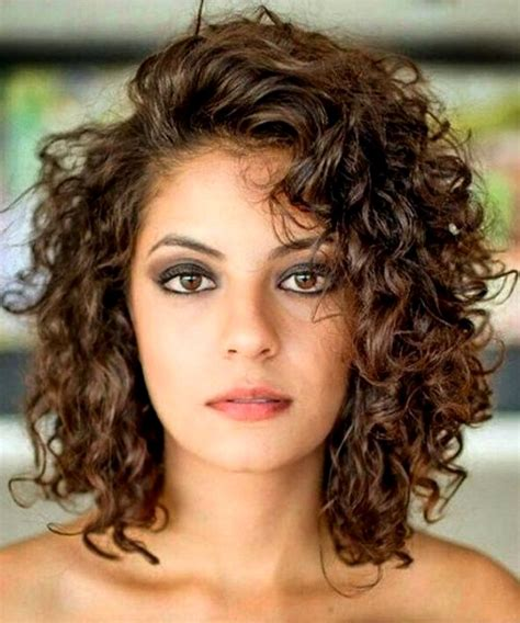 20 glamorous mid length curly hairstyles for haircuts hairstyles 2019