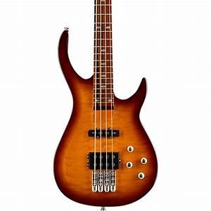 Rogue Lx400 Series Iii Pro Electric Bass Guitar Sunset