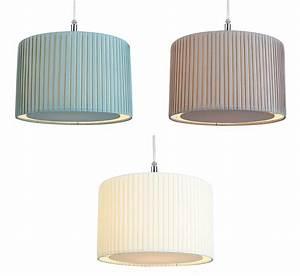 Pleated fabric drum lampshade diffuser ceiling light lamp shade cm