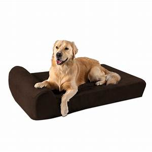Big, Barker, 7, U0026quot, Pillow, Top, Orthopedic, Dog, Bed, For, Large, And, Extra, Large, Breed, Dogs, Headrest