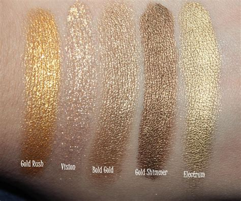 The Dark Side Of Beauty Swatches And Comparison