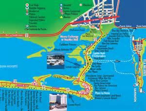 Royal Sunset Cancun Map