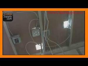 Structured Cabling Basics - Part 2  Aluminum Studs