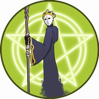 Wizard Clipart Emblem Vector Clip Fantasy Warlock