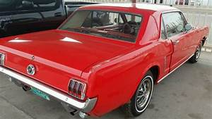1965 289 mustang cherry red in excellant shape! v8 automatic upgraded sound for sale - Ford ...