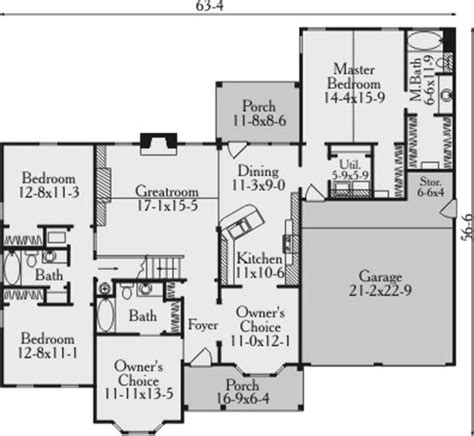 home plan designers heartland 3541 4 bedrooms and 3 5 baths the house designers
