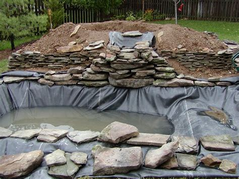 fish ponds pond hardscape rays construction milford